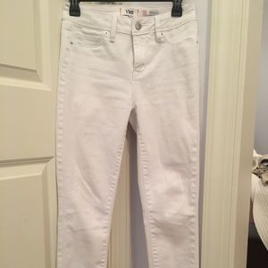 YMI skinny white jeans